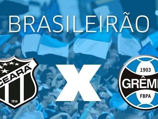 Acompanhe Ceará x Grêmio a partir das 19h