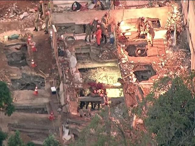 Polícia tem suspeito de ser o responsável pelos prédios que desabaram no Rio