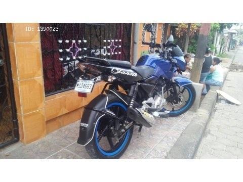 Vendo moto Pulsar 135 año 2016