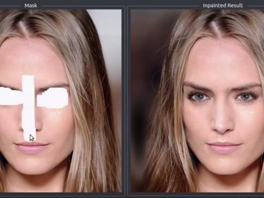Nova IA da Nvidia consegue reconstruir imagens com bastante precisão