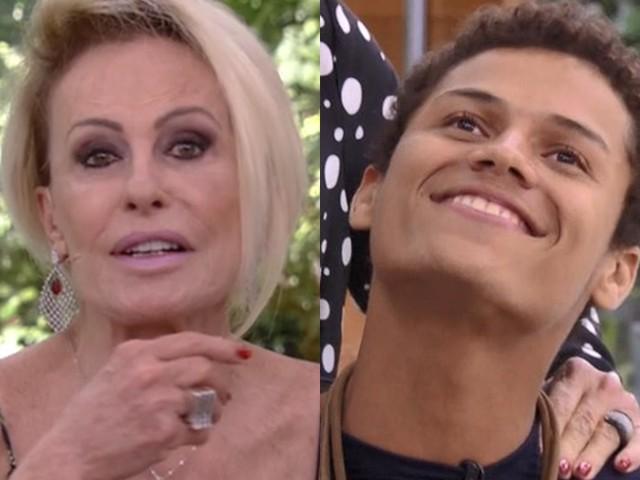 Ana Maria Braga cuida de Danrley na Globo e faz massagem no brother após eliminação