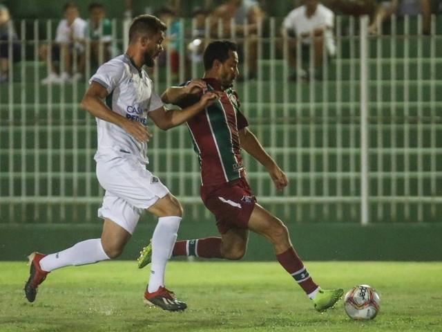 Nenê marca, Fluminense vence a Cabofriense e estreia com o pé direito na Taça Guanabara