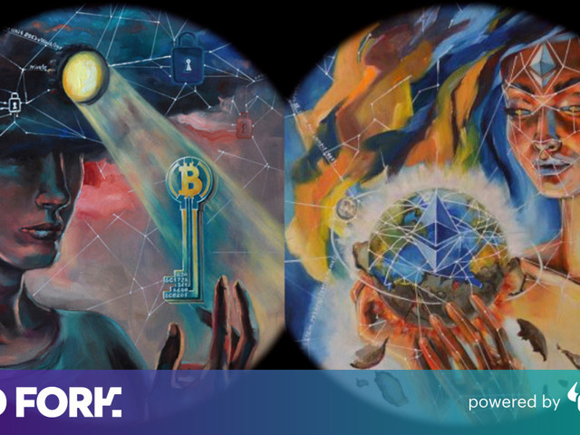 Meet the lawyer-turned-artist behind classical cryptocurrency paintings