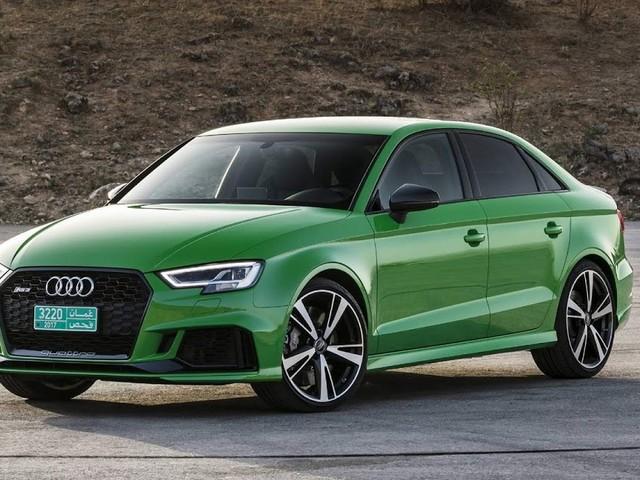 Audi RS3 Sportback e Sedan são apresentados em Omã