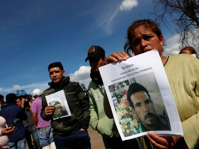 Falta de informação angustia parentes de vítimas de explosão no México