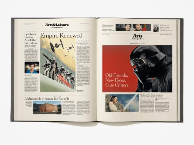 """The New York Times lança livro com todos os artigos sobre """"Star Wars"""" feitos pelo jornal"""