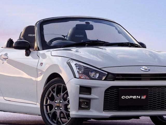Toyota Copen GR SPORT: compacto esportivo para Japão