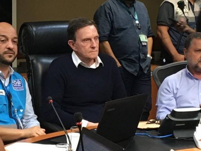 Crivella pede a Witzel liberação de terreno para obra de estação do BRT Transbrasil
