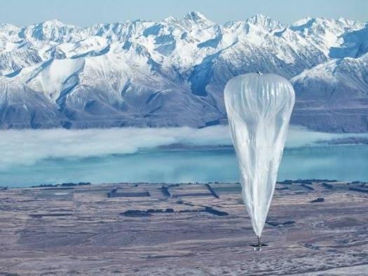 Balões do Projeto Loon, da Google, fornecerão internet no Quênia