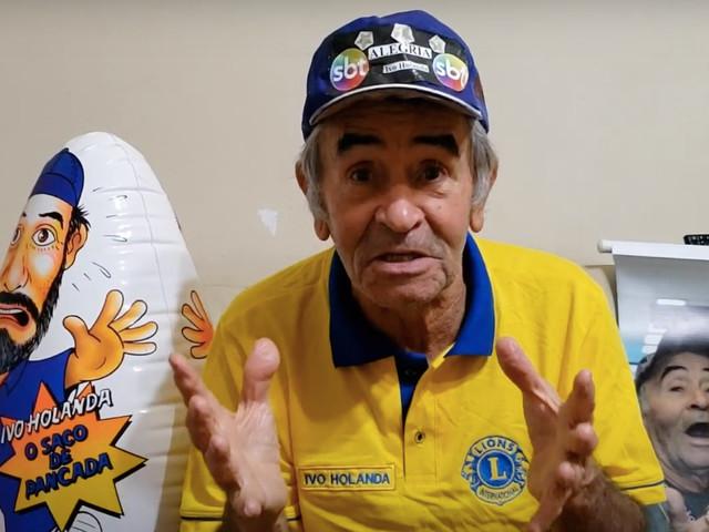 """Ivo Holanda, com salário miserável no SBT, é flagrado em hospital e verdade é espalhada: """"Medo"""""""
