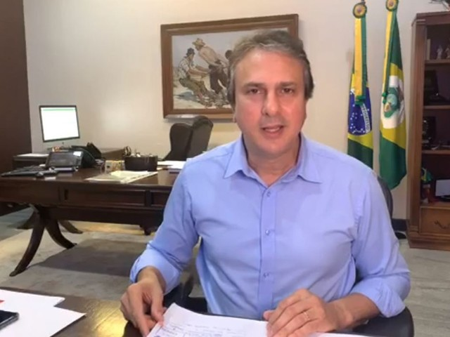 Governador Camilo Santana prorroga quarentena por mais 15 dias no Ceará