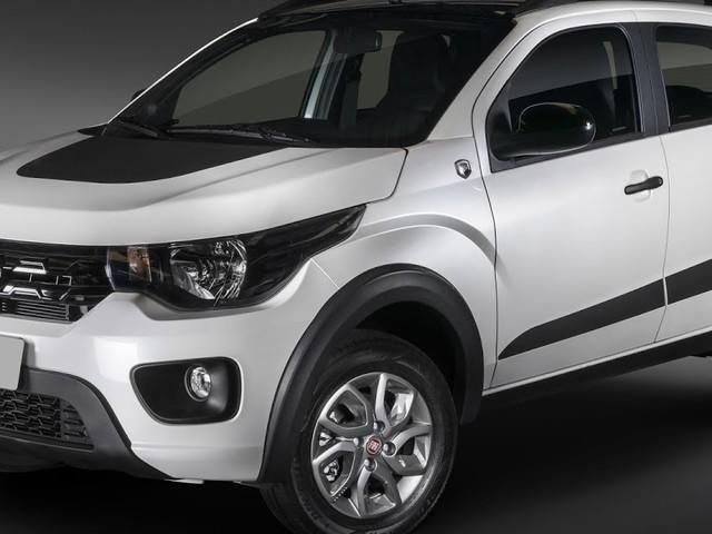 Fiat Mobi 2019 ganha kit de enfeites aventureiros por R$ 950