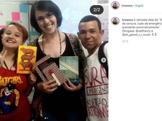 'Muita gente veio perguntar do livro', diz escritora que participou de evento em Porto Alegre após cancelamento em Nova Hartz