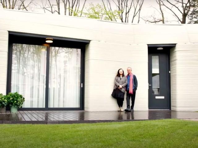 Você moraria? Conheça a primeira casa europeia feita totalmente por impressão 3D