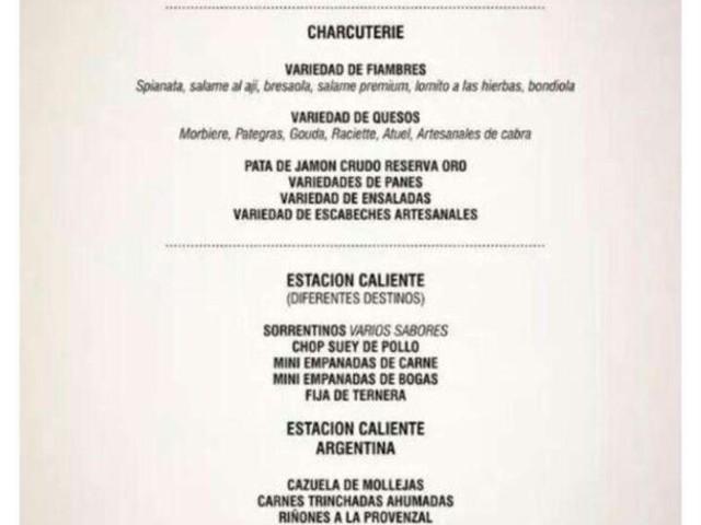 Confira as comidas que serão servidas no casamento de Messi