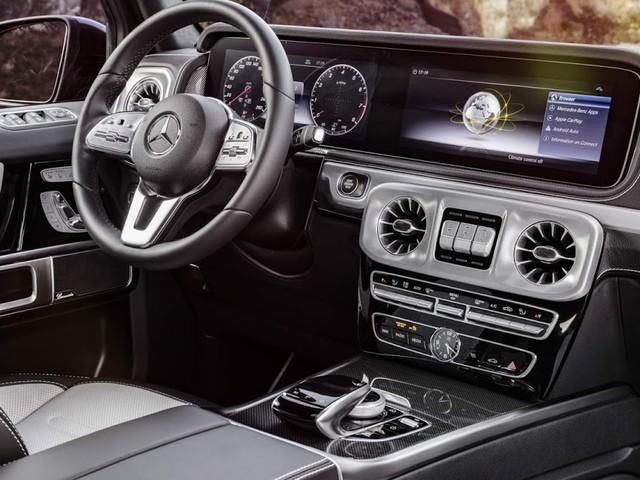 Novo Mercedes Classe G 2019: fotos oficiais do interior