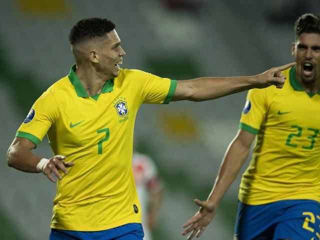 Fotos de Brasil x Peru pelo Pré-Olímpico