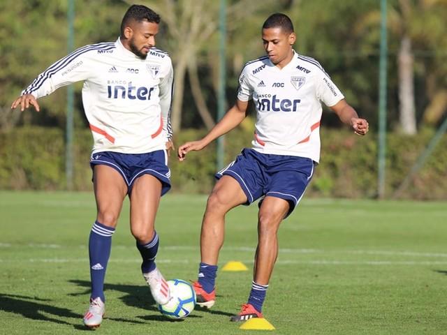 Bruno Alves se impressiona com intensidade nos treinos do São Paulo
