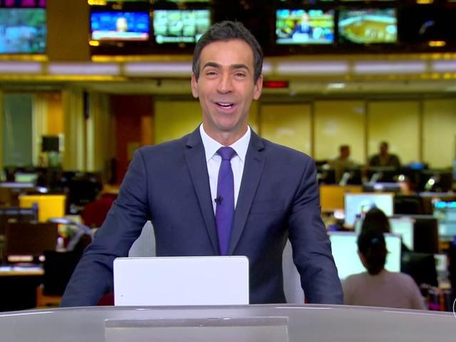 César Tralli entra para o time de apresentadores do Jornal Nacional