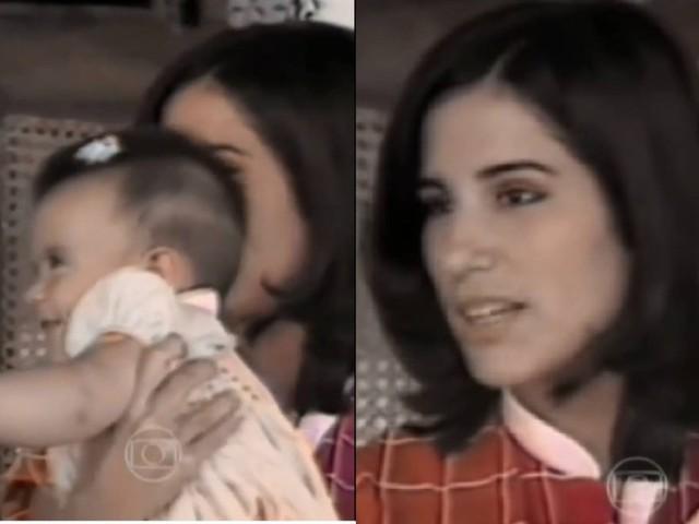 Glória Pires relembra entrevista sobre maternidade, em 1983, com Cleo no colo: 'Que lembrança linda'; vídeo