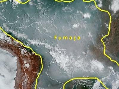 Meio ambiente   Fumaça de queimadas se estende por 4 mil km e atinge ao menos 5 países vizinhos