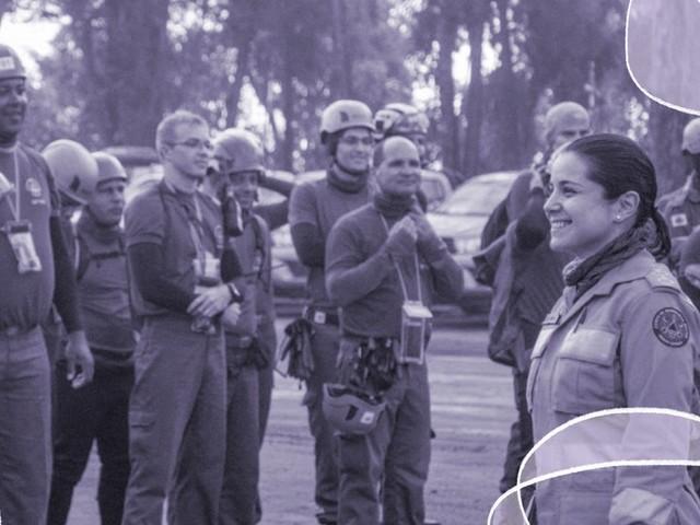 Em Brumadinho, uma mulher organizou a operação dos bombeiros. Conheça a capitã que é uma heroína da vida real