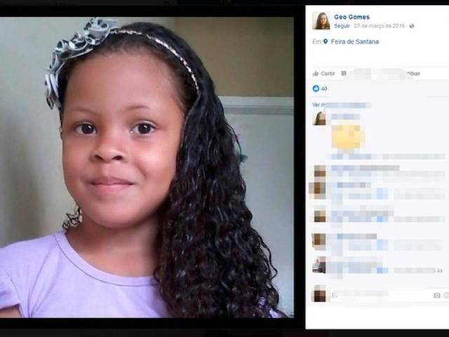Depois de quase um ano, inquérito sobre sumiço e morte da menina Gabrielly ainda não foi concluído na Bahia