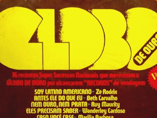 Vários intérpretes - Globo de Ouro - Vol. 2 (LP 1977)