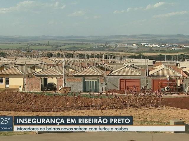 Vítimas de furtos, moradores apontam falta de policiamento em bairros novos de Ribeirão Preto, SP