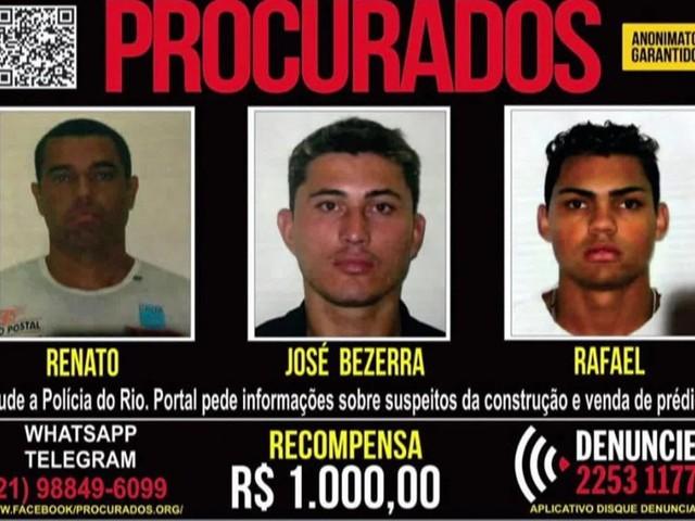 Polícia Civil faz operação na Muzema, onde prédios desabaram no Rio