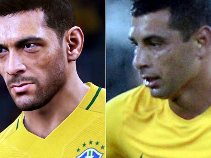 Diego Souza entra na Seleção Brasileira no game Pro Evolution Soccer 2018