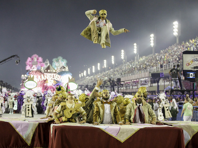 Mangueira Samba School Stands Out on Grupo Especial's Debut Night