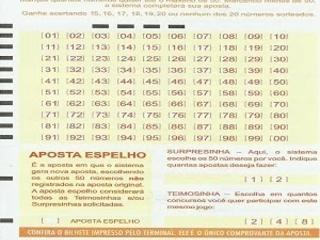 Palpites Lotomania 1783 acumulada R$ 5,5 milhões