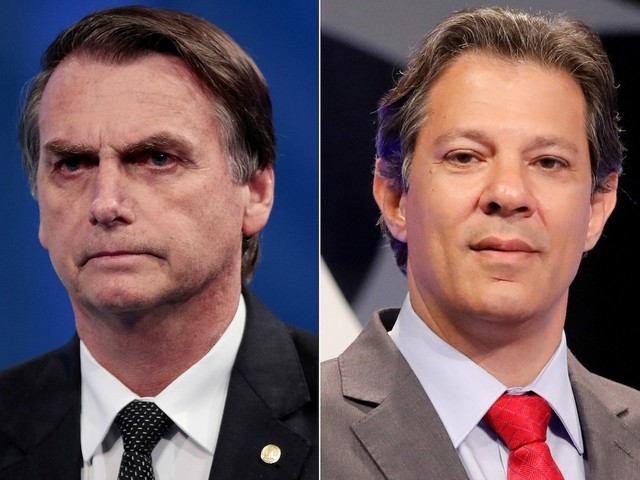 Jair Bolsonaro and Fernando Haddad Advance to Runoff in Brazil's Presidential Election