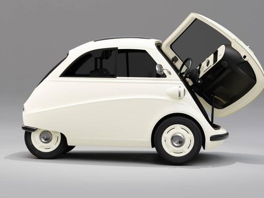 Empresa alemã Artega mostra modelo chamado Karo-Isetta