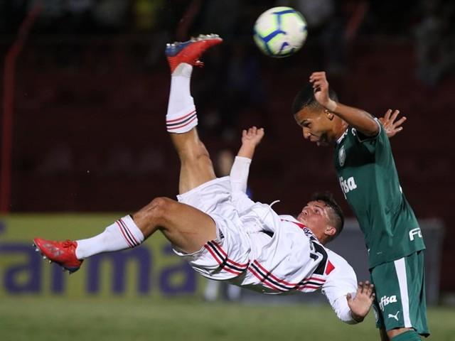 Veja fotos de Palmeiras x São Paulo pelo Brasileiro sub-17