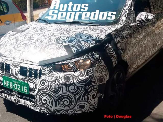 Flagra: Fiat X6S (Argo Sedã) já roda zebrado no Brasil