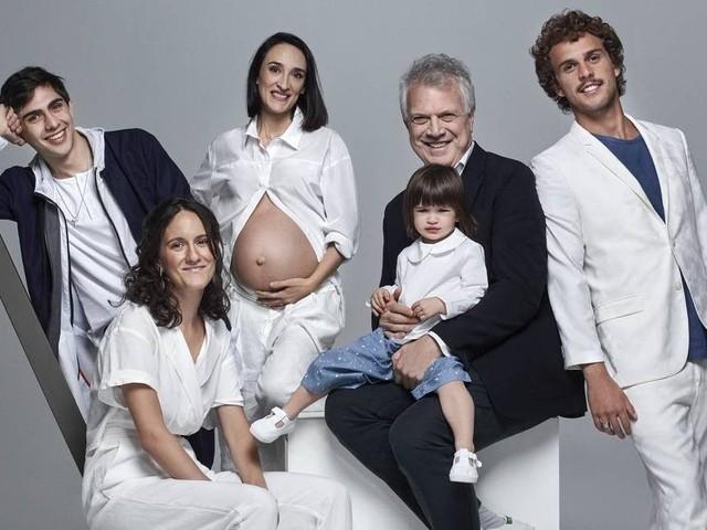 Pedro Bial sobre ter cinco filhos: 'Ser órfão de pai cedo me fez querer ser pai mais novo'