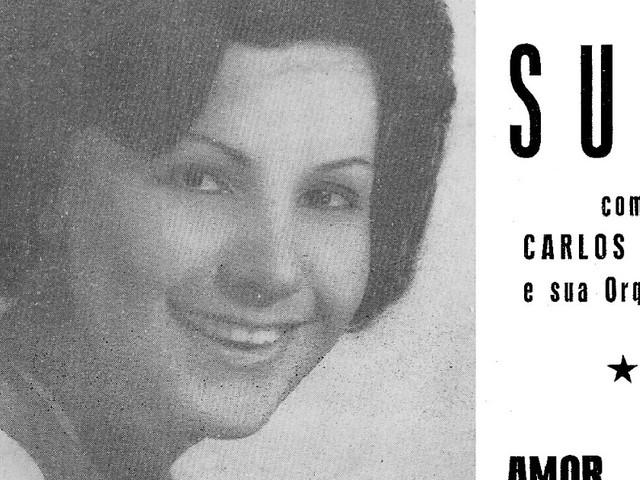 Suzi com Carlos Piper e sua orquestra (CS 1966)