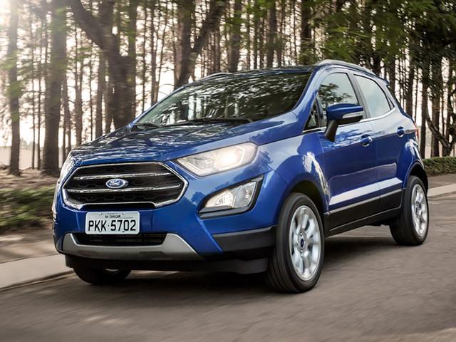Ford EcoSport Titanium tem detalhes revelados