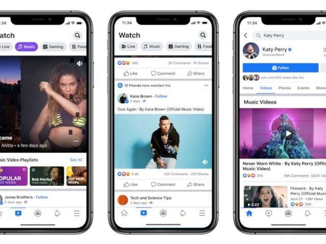 Rankings da Billboard passam a contar streams de clipes no Facebook