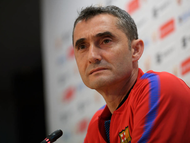Valverde renova com o Barcelona até 2020