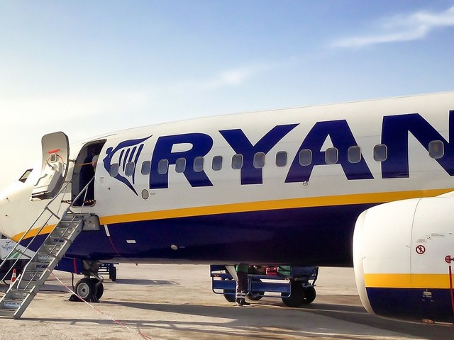 Ryanair vende passagens pela Europa a partir de 8 euros!