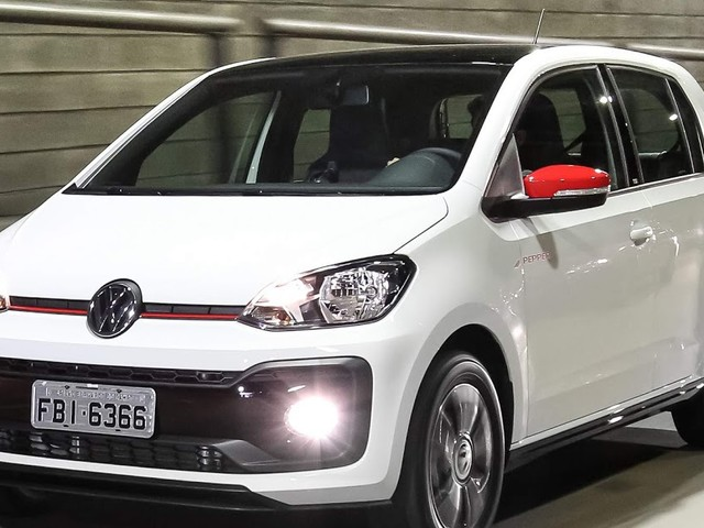 VW Up: hatch de entrada que menos desvalorizou em 2017