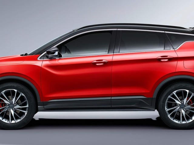 Gelly apresenta SUV compacto com powertrain Volvo