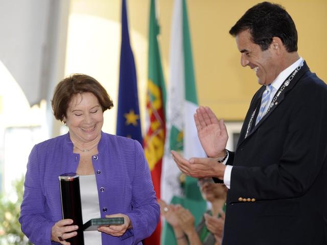 Manuela de Melo, antiga vereadora da Cultura, homenageada esta terça-feira
