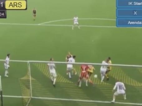 """Legítima """"bola nas costas"""" vale derrota de time na Segundona Norueguesa"""
