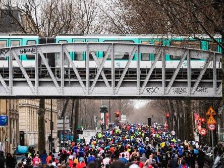 Corridas em Paris no 1° semestre de 2019