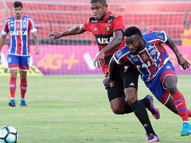 Bahia joga mal e perde para o Sport na Ilha do Retiro