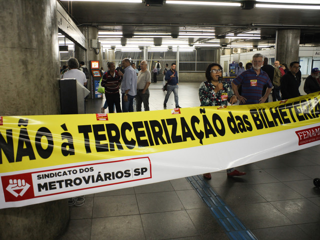 Privatization Plans of São Paulo Metro Halted After Strike